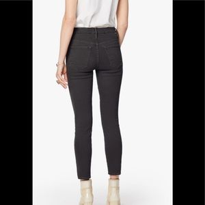 Mother High Waisted Looker Black Jeans Sz 30